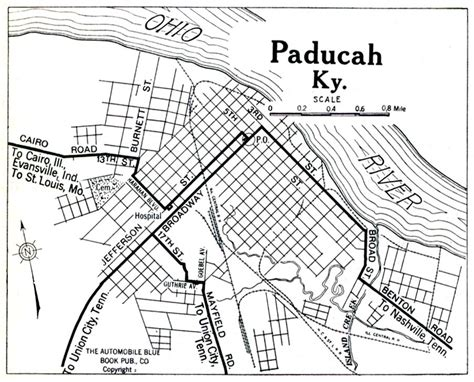 kentucky map paducah kentucky maps perry casta 241 eda map collection ut