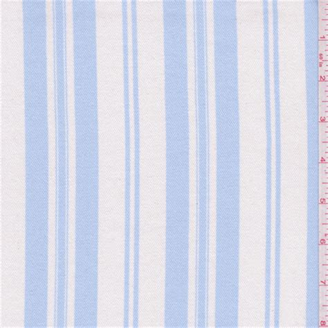 rvg tabelle shabby chic white pale blue stripe twill 40716x