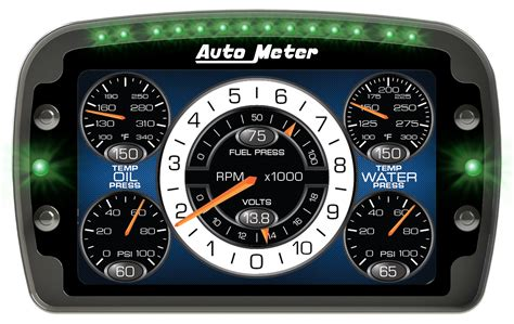auto dash customer story auto meter crank software