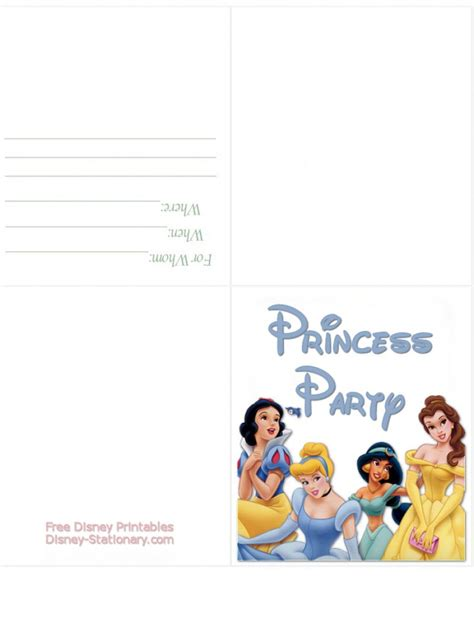 printable invitation to disney world 5 best images of free disney printable birthday