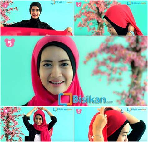 Tutorial Hijab Segiempat Hang Out | tutorial hijab pashmina untuk hang out terbaru yang unik