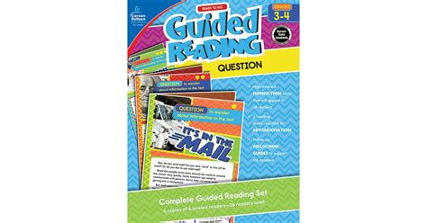 ready to go guided reading determine importance grades 3 4 books ready to go guided reading question grades 3 4 cd