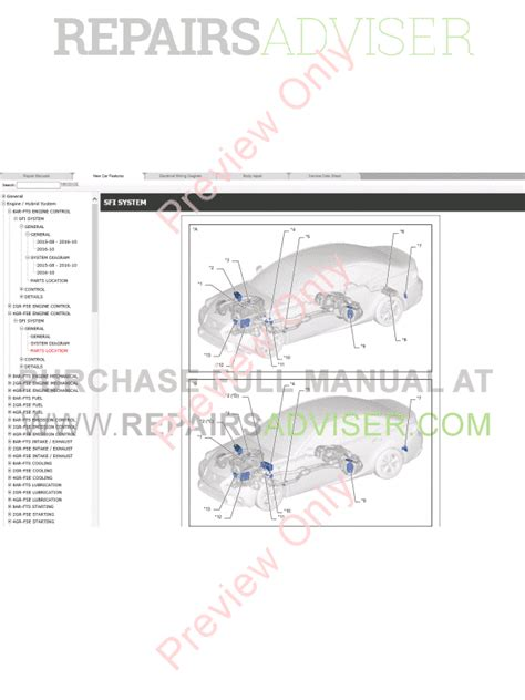 service manuals schematics 2010 lexus is f on board diagnostic system lexus is200t is250 repair manual 04 2013 download