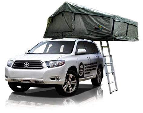 4wd cer with rooftop tent for 5