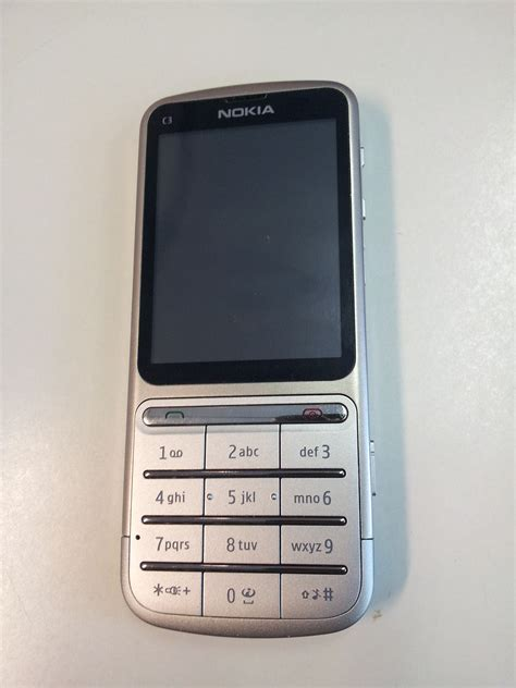 type in nokia c3 touch and type