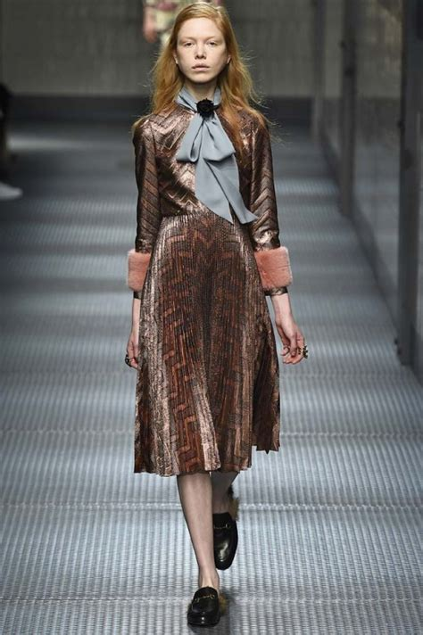 Gucci 030 He gucci fall 2015 daily front row