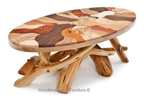 wood cocktail table artistic coffee table woods in mosaic design rustic