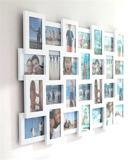 remarkable of large collage frames large collage frames homedesign plus collage photo studio multi photo frame large white craftiness