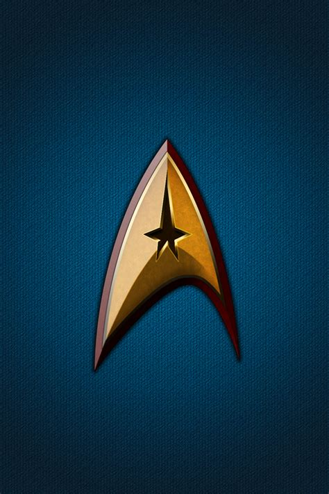 printable star trek logo starfleet wall for iphone 4 by narkos01 on deviantart