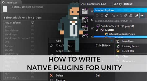 unity tutorial written how to write native plugins for unity alan zucconi