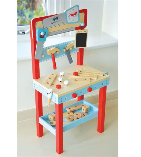 wooden toy work bench little carpenters wooden toy workbench imaginative play