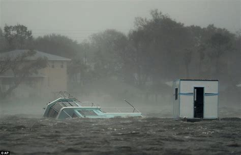boat crash daytona beach charleston wakes up under water deadly hurricane matthew