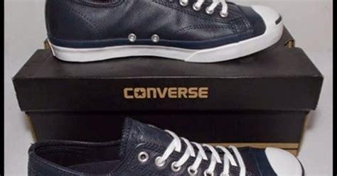 sepatu original jogja converse purcell lttleather ox