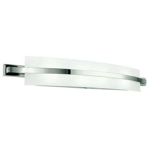 contemporary bathroom vanity light fixtures kichler lighting 45088pn freeport contemporary bathroom