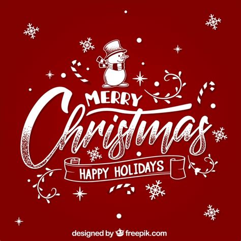 merry christmas  happy holidays vector