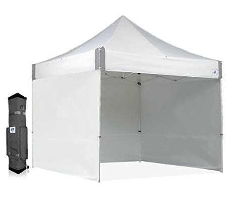 Show Tent Second Kandang Portable e z up es100s instant shelter canopy 10 by 10 white desertcart