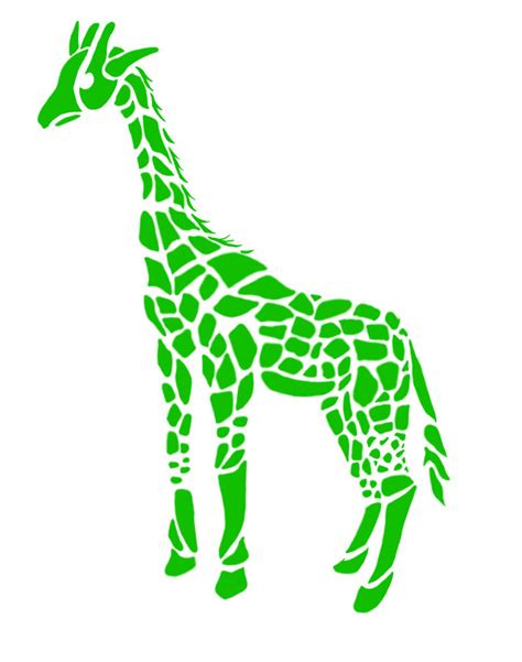giraffe tribal tattoo tribal giraffe by greenlightningbolt on deviantart