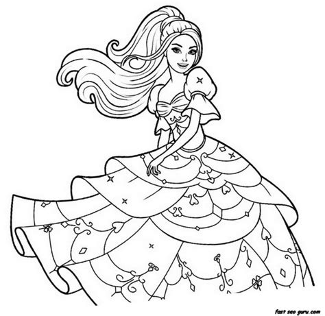 online coloring pages of barbie barbie coloring pages online az coloring pages