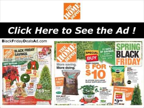 home depot 2018 black friday deals ad black friday 2018