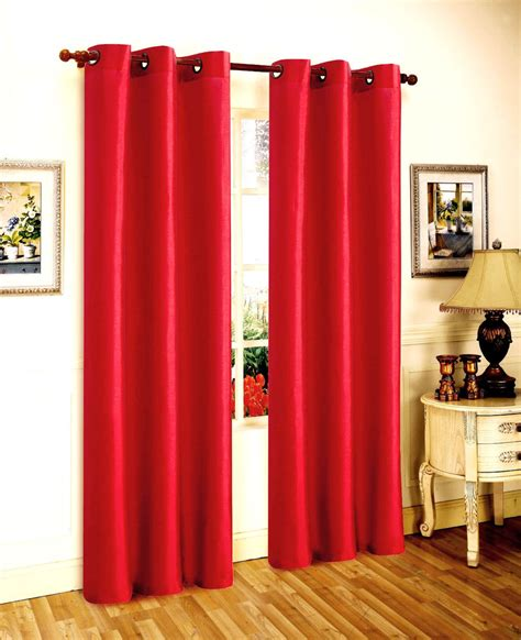 bright red curtains 1 panel bright red solid foam lined blackout window