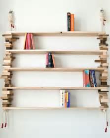 Cool Shelves Design Inspiration Pictures Cool Wooden Shelves By Hunt