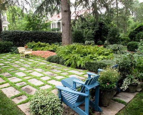 Backyard Ideas With Pavers And Grass Mixed Patio Pavers And Grass Ideas House Exterior