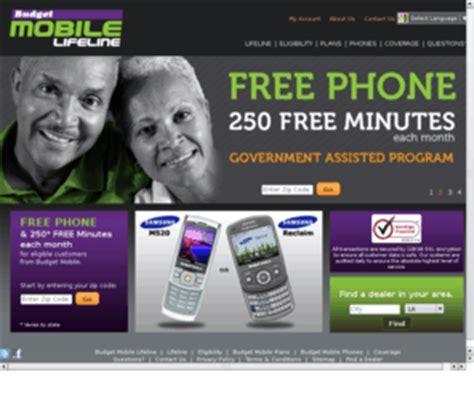 free phone program budgetmobile budget mobile