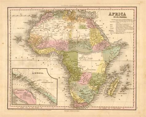68 africa map map catalog s 1844 atlas charles a reeves jr