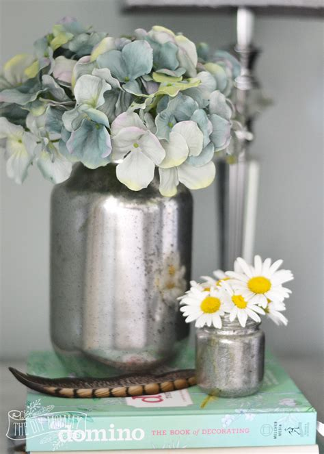 Faux Mercury Glass Vases by Make Faux Mercury Glass Vases From Recycled Jars The Diy