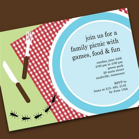 picnic invitation template picnic invitations templates picnic the