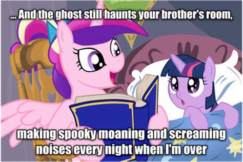 Know Your Meme My Little Pony - spooky ghost my little pony friendship is magic know