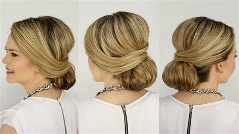 gaya rambut 50s gaya rambut low bun simpel nan elegan untuk pergi ke pesta
