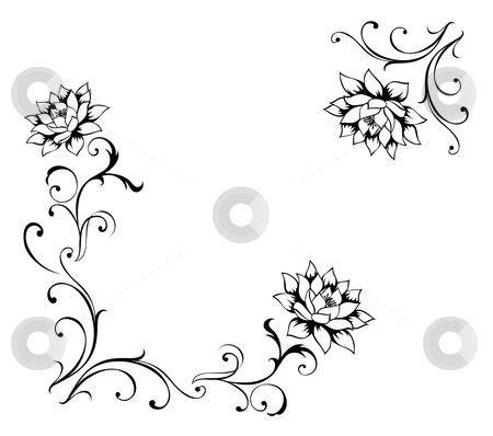 pattern flower drawn 31 best designs images on pinterest floral patterns