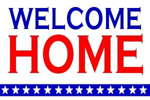 buy welcome home flag 3 x 5 ft for sale sign flag 3 x 5