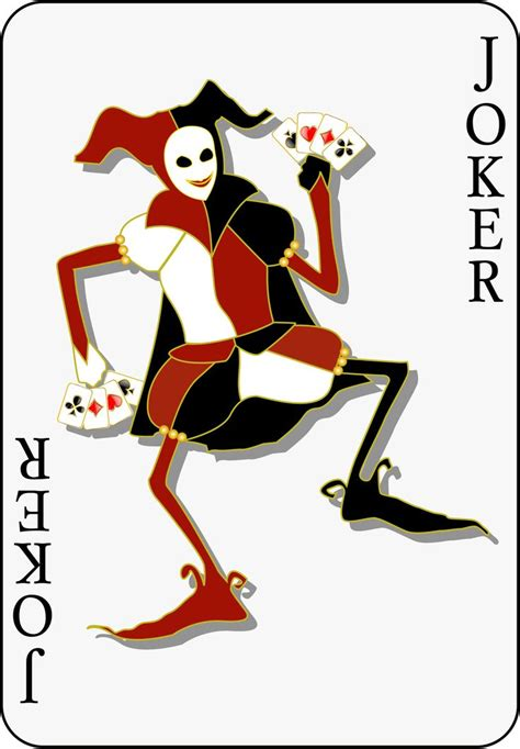Interesting Joker Card Da Ara Joker
