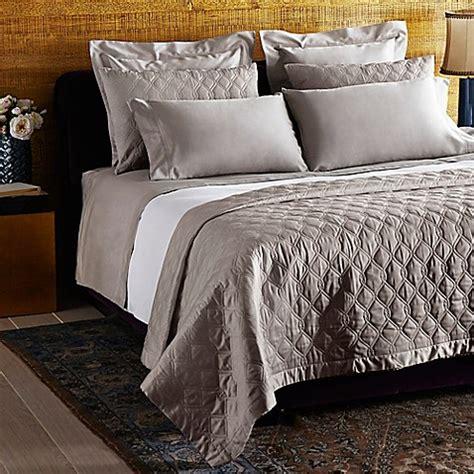 frette bedding frette at home orpheum standard pillow sham in stone bed