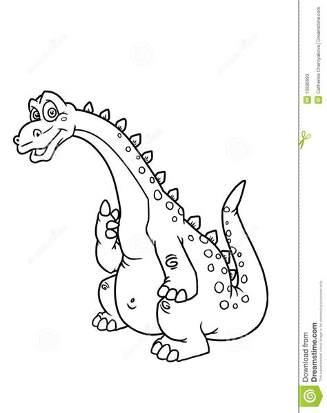 Coloring Pages Dinosaur Stock Photos Image 15595993 Copyright Free Coloring Pages