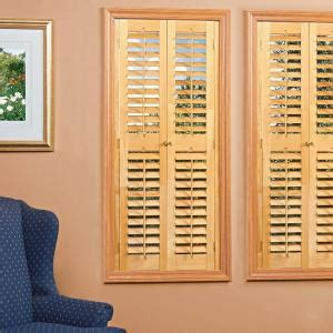 wooden shutters interior home depot homebasics plantation light teak real wood interior shutters price varies by size qspd3560