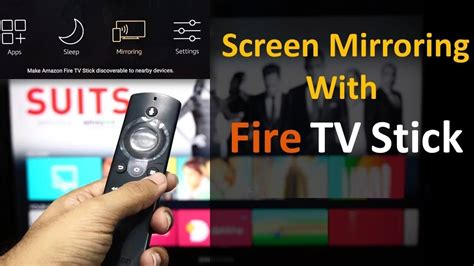 mirrorcast iphone  fire tvstick techy bugz