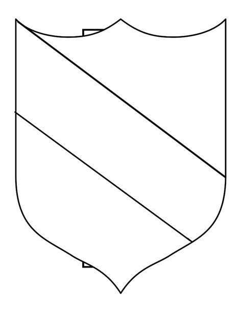 family shield template the gallery for gt free printable family crest template