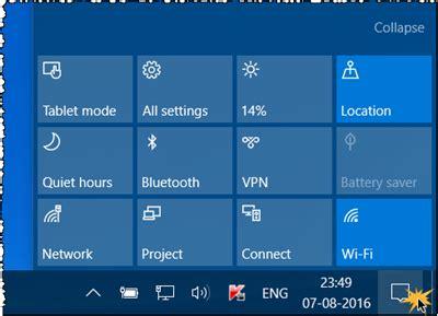 dropbox quick action button add remove arrange quick action buttons in windows 10