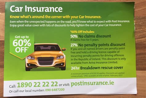 Time Car Insurance Ireland by An Post Car Insurance Car Finance Home Insurance
