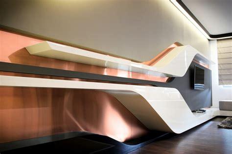 futuristic colors futuristic small apartment interior design in bulgaria