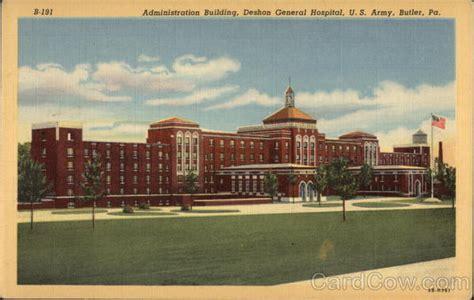 Butler Hospital Detox Butler Pa by Administration Building Deshon General Hospital U S