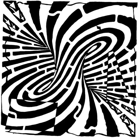 coloring pages illusions optical illusion coloring pages to download and print for