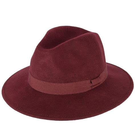 Handcrafted Hats - s handmade fedora hat made in italy 100 wool
