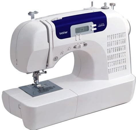best sewing machines for beginners reviews brother sc6000i sewing machine