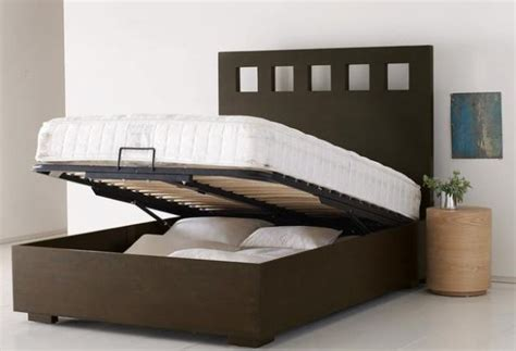 Pivot Storage Bed Frame Organize Your Home With Compact Yet Comfortable Storage Beds Hometone