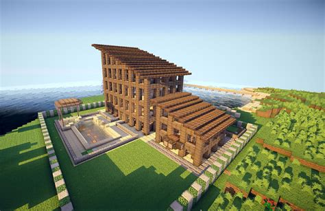 minecraft wooden house design amazing minecraft builds minecraft house design jpg out of this world minecraft