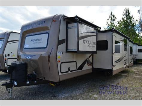 2016 forest river rockwood ultra lite travel trailer new 2016 forest river rv rockwood signature ultra lite